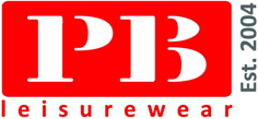 PB Leisurewear Retina Logo