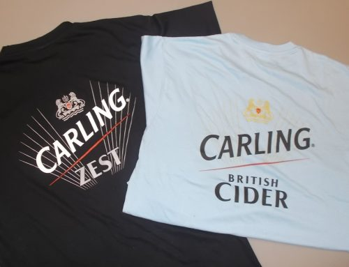 Printing for Carling Zest & Carling Cider