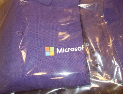 Poloshirts for Microsoft