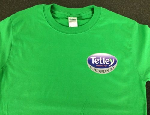 Printed Tshirts for Tetley/Asda Promotion